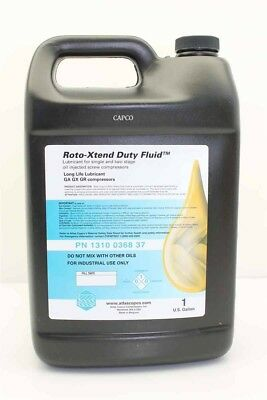 Genuine OEM 1 Gallon Jugs of Atlas Copco Roto-Xtend Duty Oil # 1310036837 2 PACK