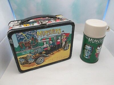 Vintage THE MUSTERS Metal Lunch Box by King-Seeley W/ Thermos!