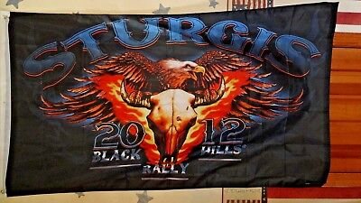 Sturgis Black Hills Rally 2012 Flag