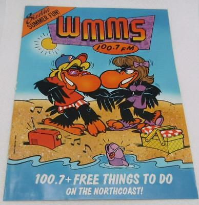 1988 WMMS 100.7 David Helton Buzzard Art Sizzlin Summer Fun In Cleveland Oh