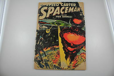 Speed Carter Spaceman and the Space Sentinels! Mar (1954 Atlas)