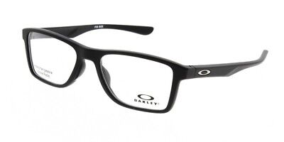 New and Authentic OAKLEY OX8108-0155 Eyeglasses Satin Black 55mm 18mm 135mm