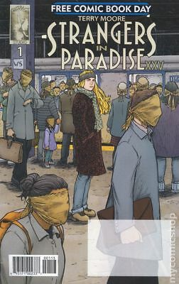 Strangers in Paradise XXV (Abstract) FCBD #1 2018 NM Stock Image