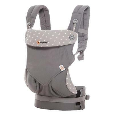 ERGO Ergobaby 360 Four Position Breathable carrier Dewy Grey NEW