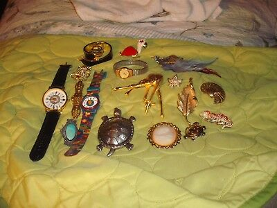 Vintage Estate Jewelry Lot ..unsearched Untested
