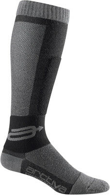 Arctiva Mens Black/Grey Evaporator  Snowmobile Wicking Socks