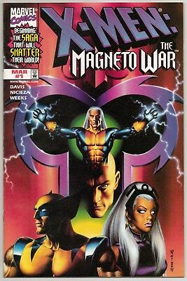 X-Men: The Magneto War #1B NM (Marvel 2000)