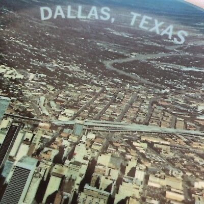 Lot 48 ~ Vintage Melamine Dallas Photo Plate 70s 60s NR