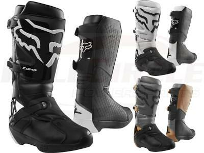 Fox Racing YOUTH Comp 3Y Off-Road Riding Boots *Y3,Y6,Y7* Black