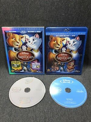 The Aristocats Blu-ray 2012 Disc Special Edition Walt Disney W/ Slip Cover