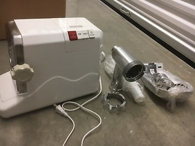 TMS Electric 2.6 HP 2000 Watt Industrial Meat Grinder Butcher Shop 3 Cutting
