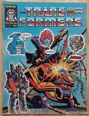 Transformers UK Comic Issue 87