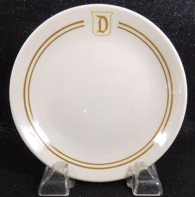 Disneyland Dessert Plate Used Restaurant Ware 1995 by Homer Laughlin China