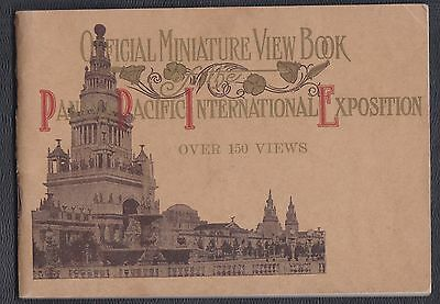 1915 Pan Pacific Expo (PPIE), San Francisco CA official booklet #1,150+ views