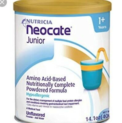 neocate junior VANILLIA 4 tins