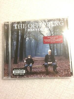 The Offspring - Days Go By CD plus used backstagepasses