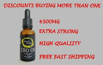 CBD oil 15% 4500mg 30ml Strong Top Quality. Organic and Natural. FAST DELIVERY.