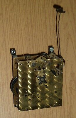 Vintage Dutch wall clock movement for spares