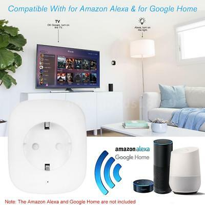 Mini Inteligente WiFi Timer Presa di corrente Controllo Vocale By Google Home EU