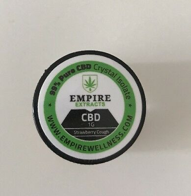 1G EMPIRE EXTRACTS CBD Crystal Isolate - Zkittles Flavour