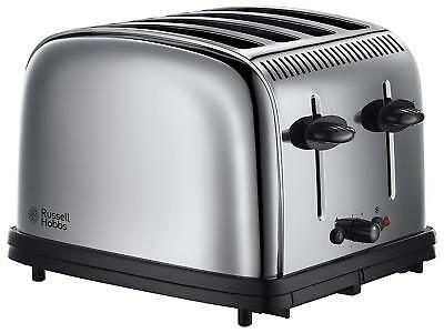 Russell Hobbs Classic 23340 4 Slice Toaster - Polished Steel