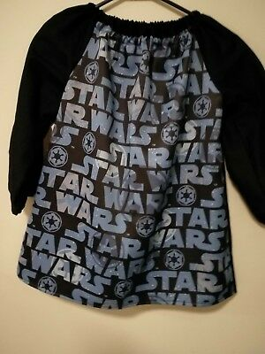 Art Smock Boys Star Wars 4-7