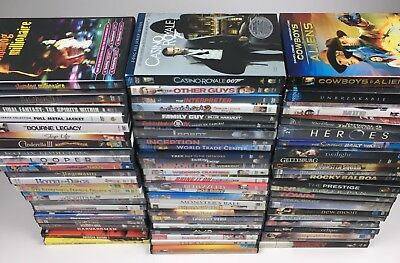 HUGE Lot of 80 DVDs Mixed Lot ~ Action, Thriller, Drama, Family, SciFy