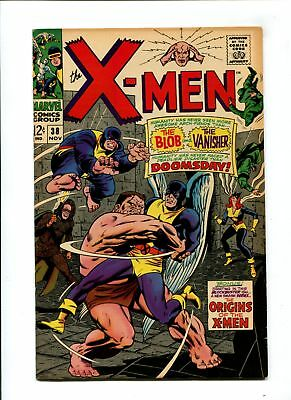 X-Men #38 VF+ 8.5 HIGH GRADE Marvel Comic KEY X-Men Origins Begins Silver 12c