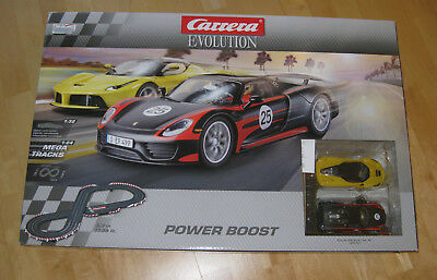 Carrera Rennbahn Evolution Power Boost 25206