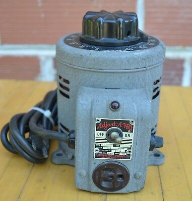 Standard Electric Products 500B ADJUST-A-VOLT 0-140 VARIABLE TRANSFORMER
