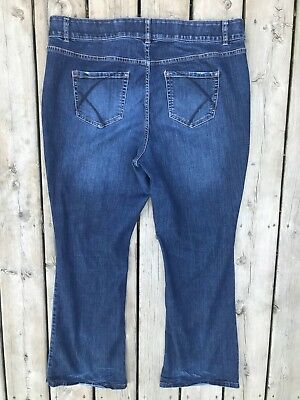 LANE BRYANT Jeans Womens 20 High Rise Bootcut Tighter Tummy Technology Stretch