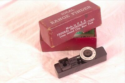 Ideal rangefinder  by federal instrument mint shape!