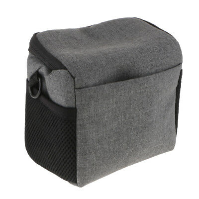 Portable Soft Carrying Case Shoulder Bag for Nikon Canon Sony Cameras Gray