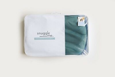Snuggle Me Organic The Original Co-Sleeping Baby Bed Infant Moss Blue Cover