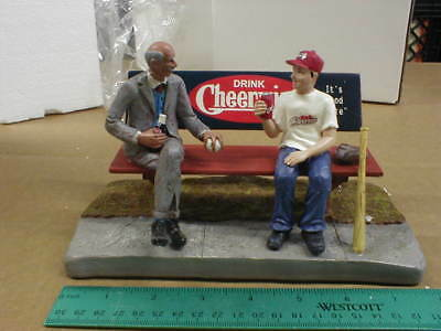 "New Cheerwine soda soft drink statue NEW 7 1/2"" Baseball Figurine"