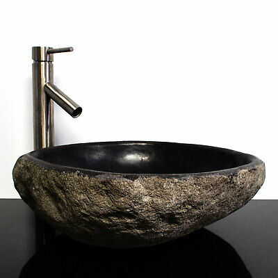 Riverstone Granite Boulder Vessel Sink RSJB-20