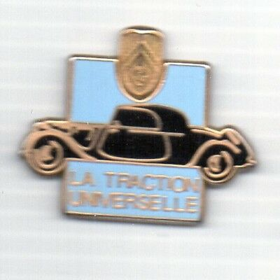 pin pin's citroen traction avant traction universelle