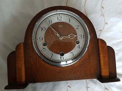Smiths of Enfield Chiming Mantel Clock 1951