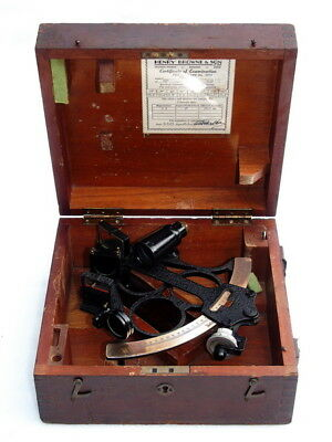 Sestrel Henry Browne & Son Station Works Barking Essex Ships Boat Marine Sextant