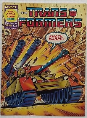 Transformers UK Comic Issue 141
