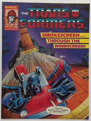 Transformers UK Comic Issue 149