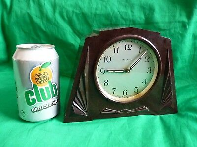 Rare Art Deco Ingersoll Bakelite clock - 1930's – Not working