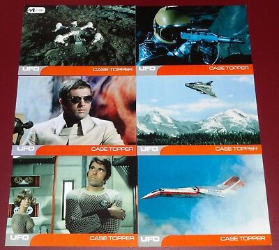 Gerry Anderson's UFO by Unstoppable Cards Rare 6-Card Case Topper Set 148/150