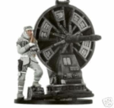 WOTC Star Wars Minis Champions o/t Force Hoth Trooper with Atgar Cannon SW