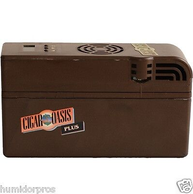CIGAR OASIS Plus Electric Electronic Humidifier Authorized Dealer