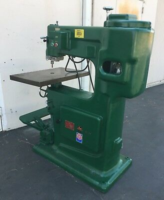 ONSRUD/SHODA HIGH SPEED PIN OVERHEAD ROUTER Model RO-118 220/440 3Phase