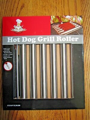 Hot Dog Bbq Grill Roller-Ball Park Hot Dogs-Sausages-Breakfast Sausages-New