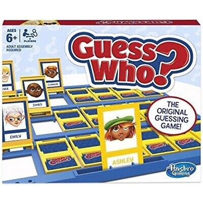 Guess Who / Toys - Game Hasbro Classic Gaming New Board Family