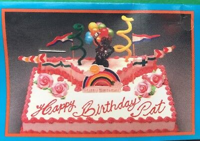 California Raisins MICHAEL JACKSON Birthday Cake Topper Kit Decorating Kwik