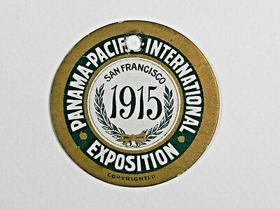 Vintage 1915 PAN PACIFIC EXPOSITION San Francisco souvenir TALK WORK BOOST PPIE
